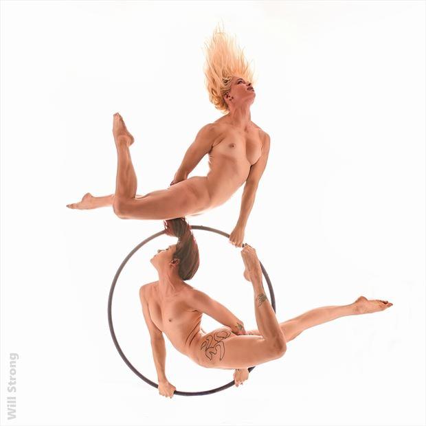 sasha and emily on lyra artistic nude photo by photographer yb2normal