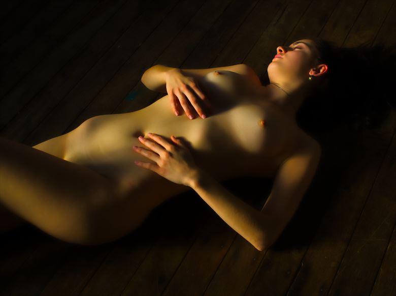 saskia beautiful body scape artistic nude photo by photographer pgl05