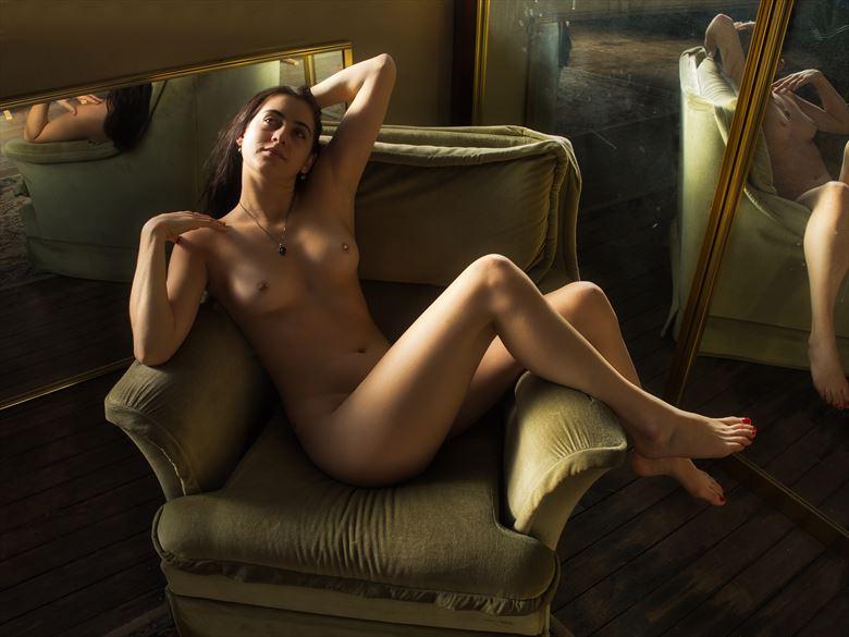 saskia many reflections artistic nude photo by photographer pgl05
