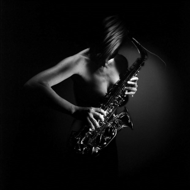 sax Artistic Nude Photo by Photographer Jan_Mlcoch