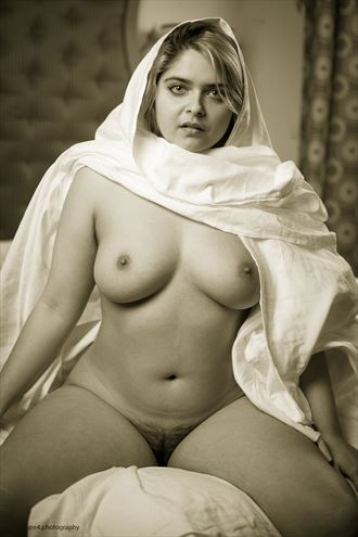 scarf artistic nude photo by photographer ishoot photography
