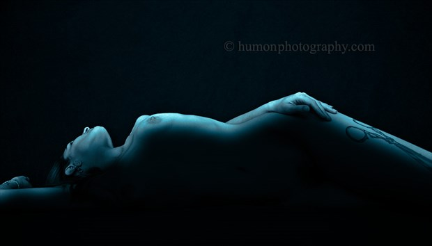 scissors Artistic Nude Artwork by Photographer humon photography