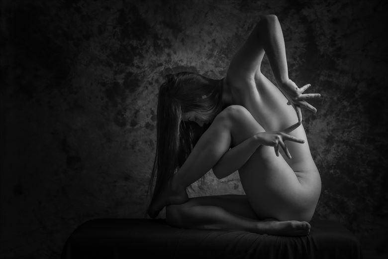 sculpture artistic nude photo by photographer claude frenette