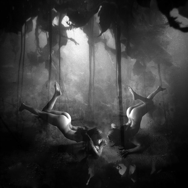 sea nymphs Fantasy Photo by Artist jean jacques andre
