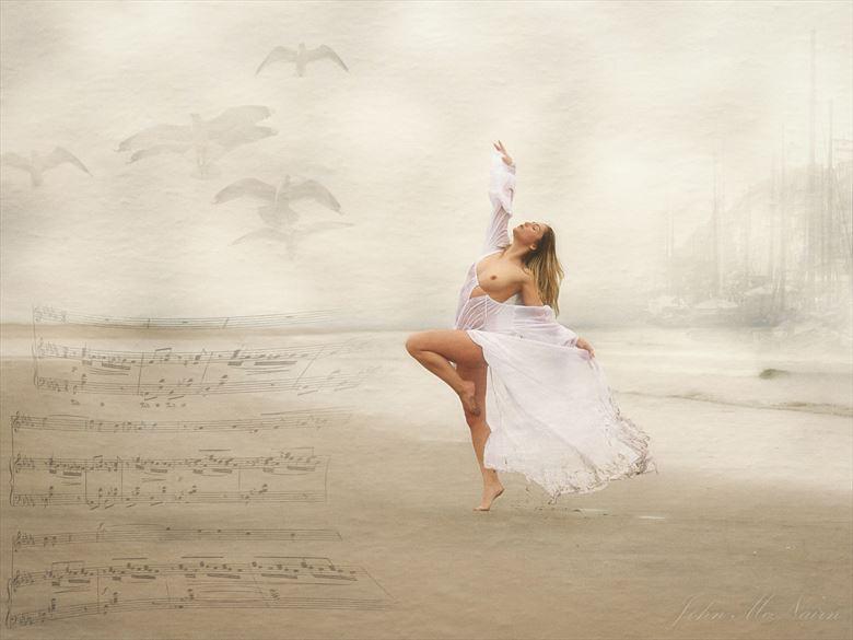 sea shanty artistic nude photo by photographer john mcnairn