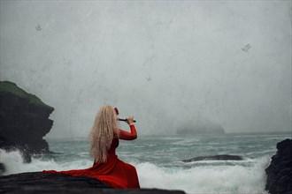 sea siren surreal photo by photographer button moon