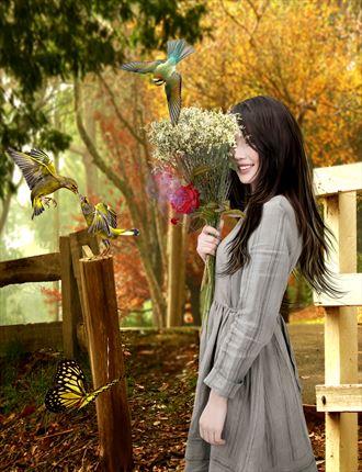 season of love fantasy artwork by artist karinclaessonart