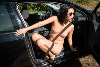 seatbelting artistic nude photo by photographer cuthbert