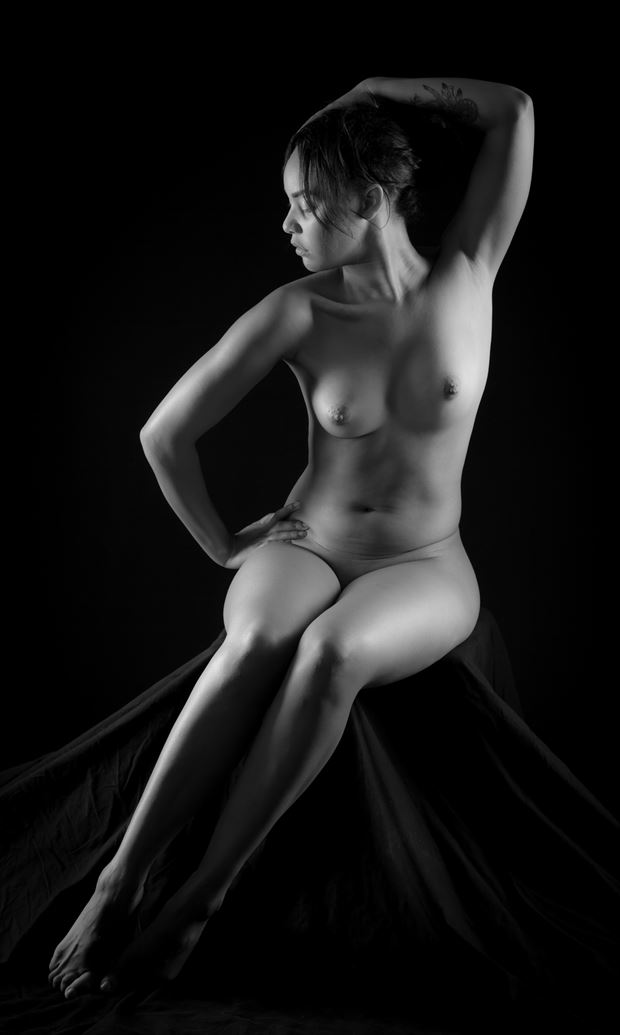 seated Artistic Nude Photo by Photographer Allan Taylor