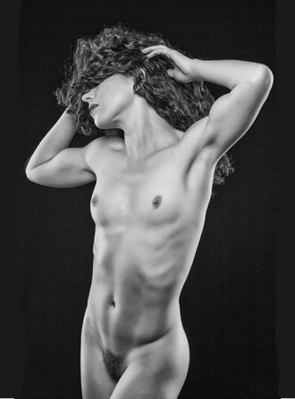 see no evil artistic nude photo by photographer vivid impressions