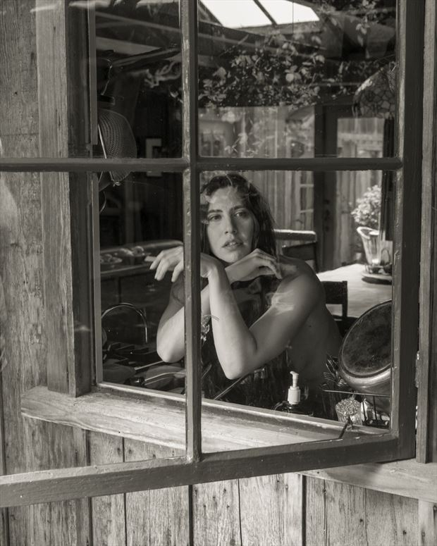 sekaa at the weston s window artistic nude photo by model jefflamarche