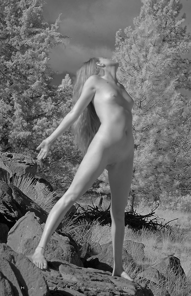 selena standing artistic nude photo by photographer shootist