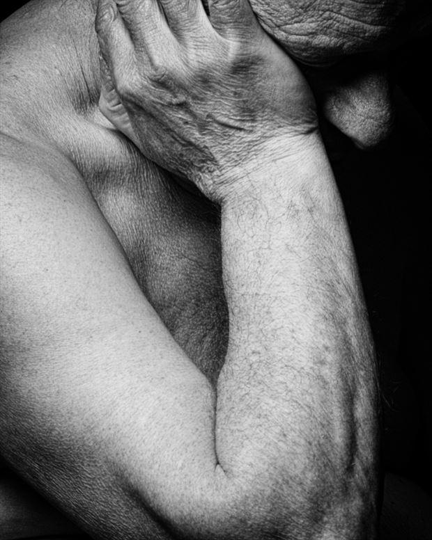 self artistic nude photo by photographer jan karel kok
