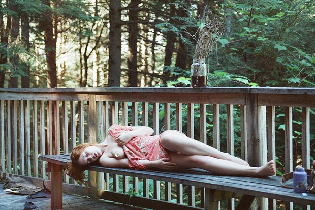 self portrait Implied Nude Photo by Model Queen Dandelion