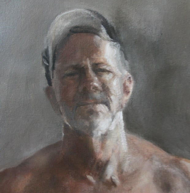 self portrait Portrait Artwork by Artist rogerrembrandt