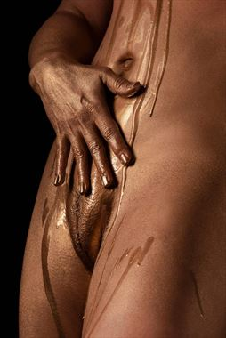 sensual body painting photo by model angela mathis