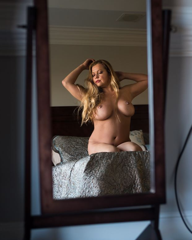 sensual glamour photo by model angela mathis