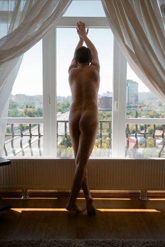 sensual glamour photo by model dorian