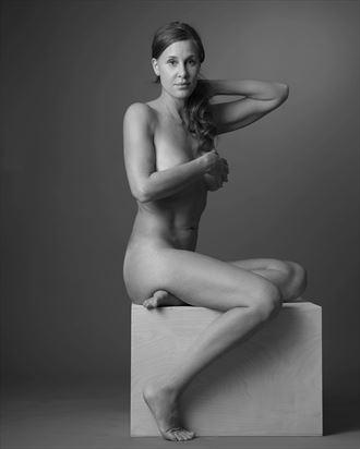 sensual implied nude photo by model callmemadeleine