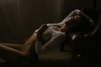 sensual implied nude photo by model dahliahrevelry