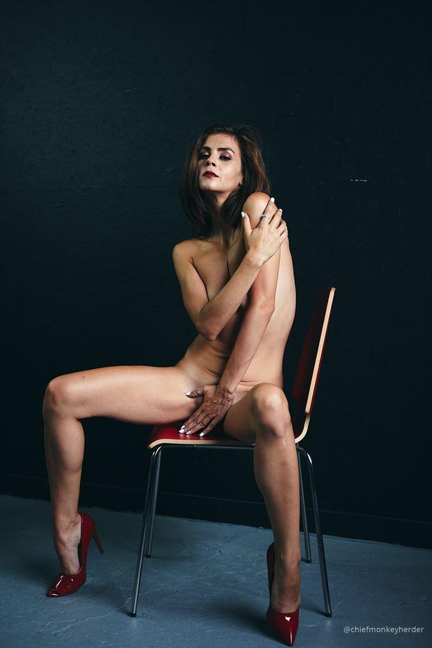sensual implied nude photo by model helen troy