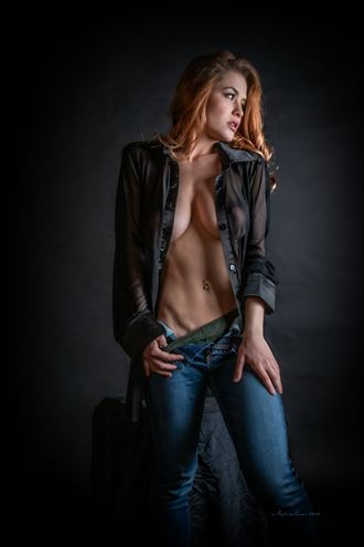 sensual implied nude photo by photographer nikzart