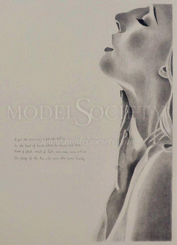 sensual portrait artwork by artist the artist s eyes