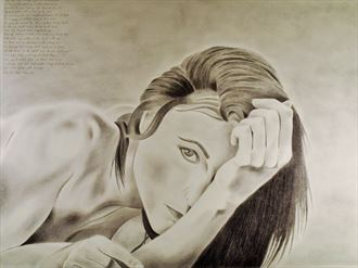sensual portrait artwork by artist the artist s eyes