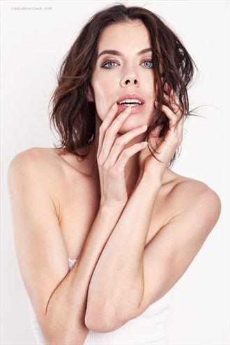 sensual portrait photo by model denisastrakova