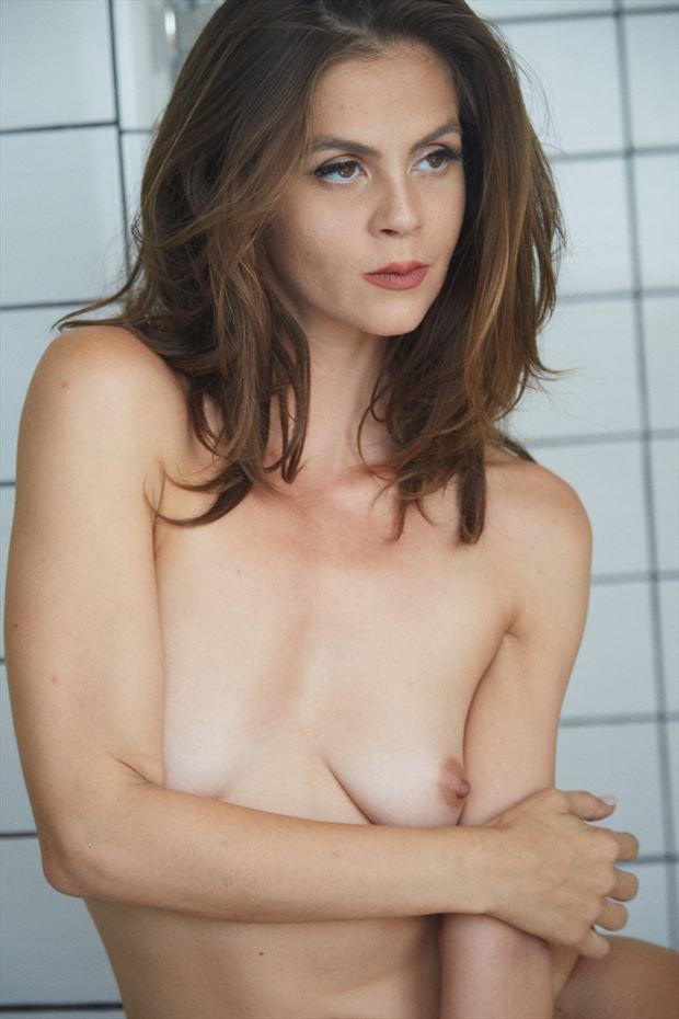 sensual portrait photo by model helen troy