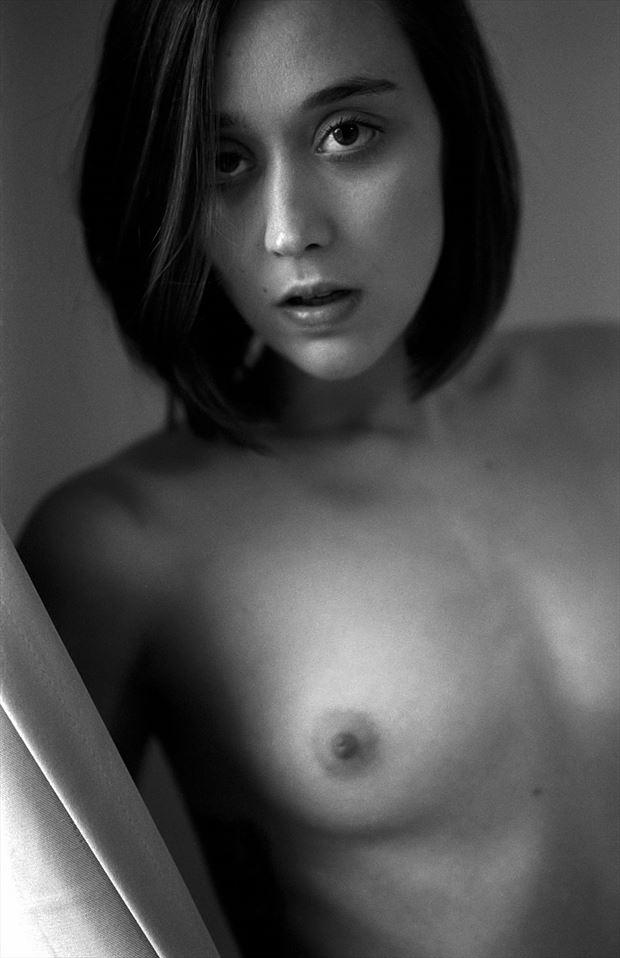 sensual portrait photo by model j k model