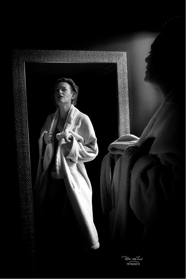 sensual self portrait photo by model pure