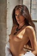 sensual self portrait photo by model rebecca perry