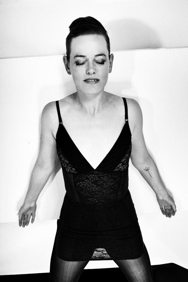 sensual silhouette photo by model pure