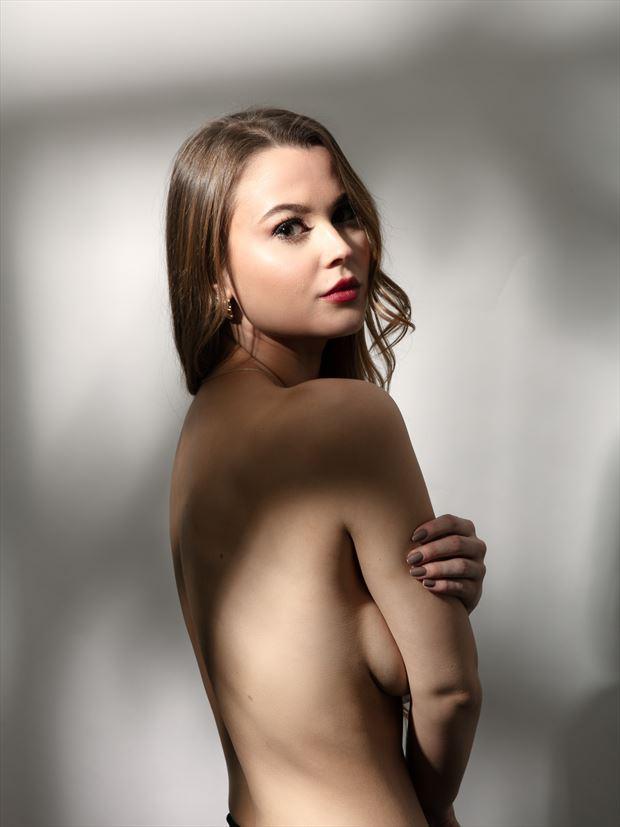 sensual silhouette photo by photographer ekman