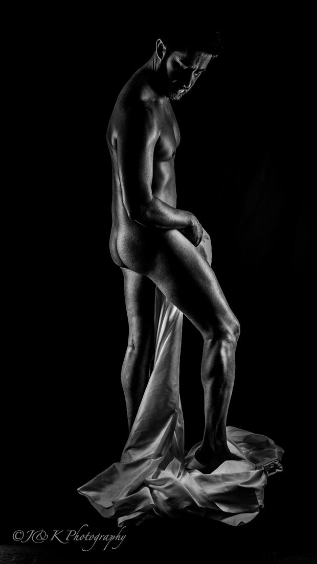 sensual solace bw1 artistic nude photo by model jonathan arts
