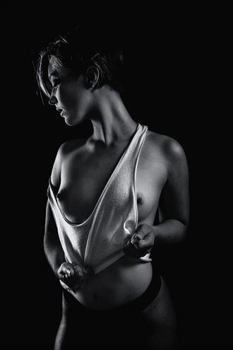 sensual studio lighting artwork by model j k model