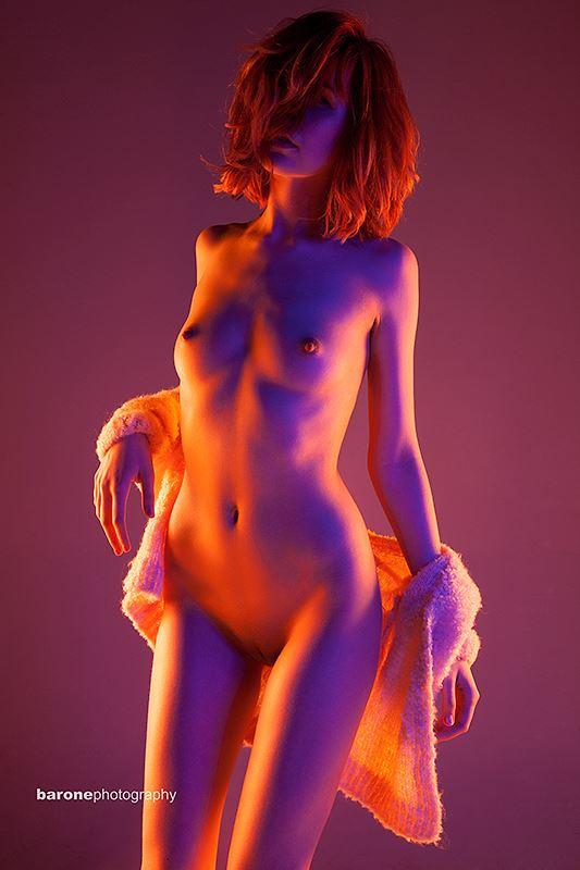 sensual studio lighting photo by model atalanta