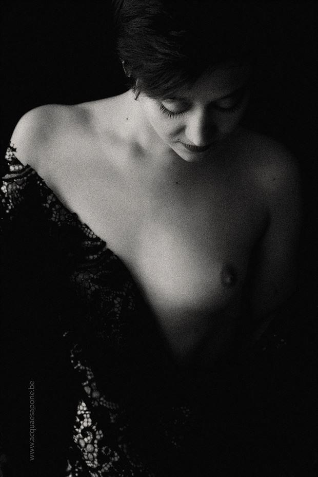 sensual studio lighting photo by model j k model