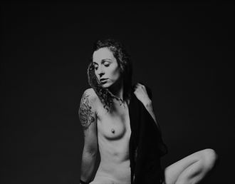 sensual studio lighting photo by model michelle s