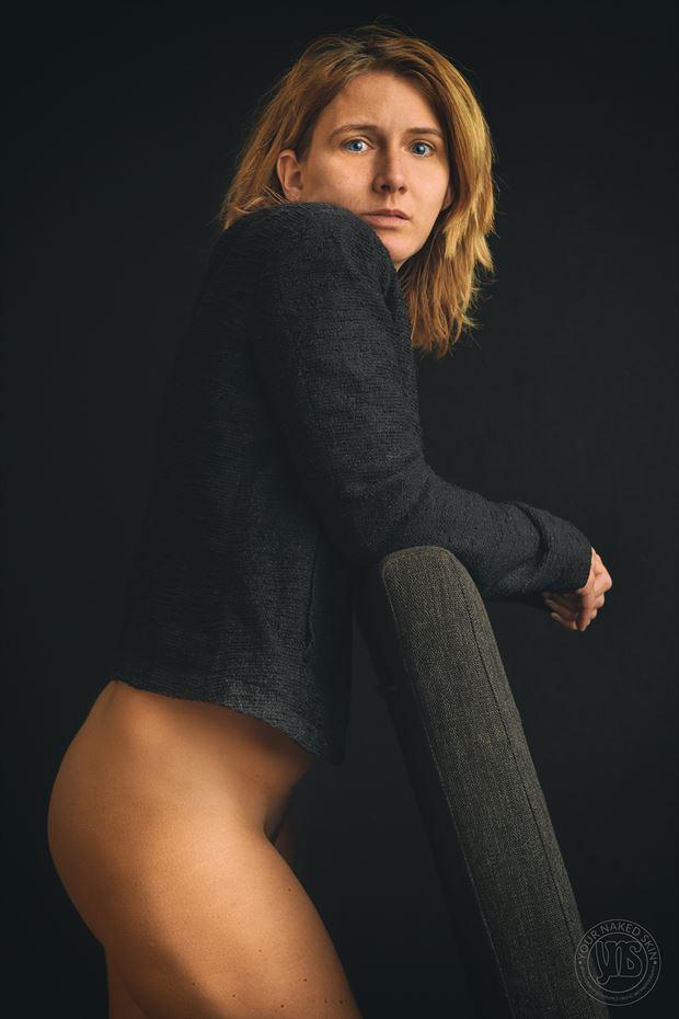 sensual studio lighting photo by photographer your naked skin