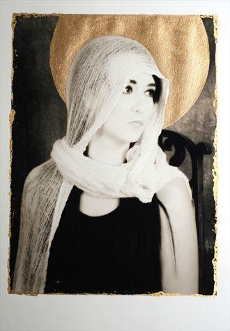 serafina with nimbus sensual photo by photographer divinelight