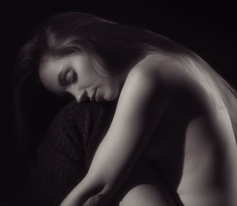 serene artistic nude photo by photographer excelsior