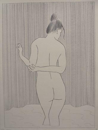 serenity artistic nude artwork by artist the artist s eyes