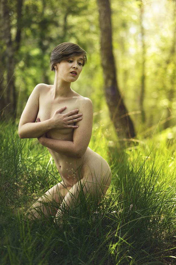 serenity in the forest ii artistic nude artwork by photographer pegico_art