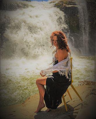 serenity nature artwork by model tigg
