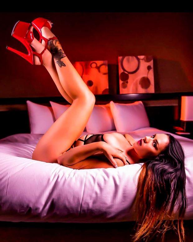 sf photoshoot lingerie photo by model amandaelle