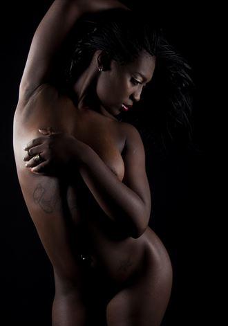 sha teria in the funk attic studio artistic nude artwork by photographer nlsphoto