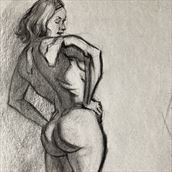 shadow map study artistic nude artwork by artist edoism