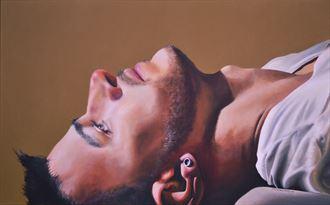 shadow of a dream portrait artwork by artist dan simoneau artist